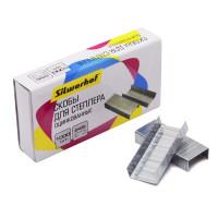 Скобы для степлера Silwerhof 421012-40 (тип 24/6, 1000шт) [421012-40]