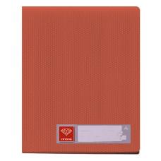 Папка Бюрократ Crystal -CR20RED (A4, пластик, толщина пластика 0,5мм, красный) [CR20RED]