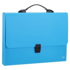 Папка-портфель Deli Rio EB50002 (A4, отделений 1, полипропилен, толщина пластика 0,7мм, ассорти) [EB50002]