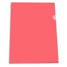Папка-уголок Бюрократ Economy E100RED (A4, пластик, тисненый, толщина пластика 0,1мм, красный) [E100RED]