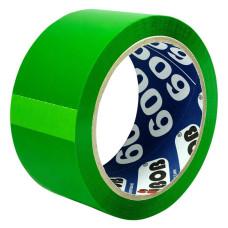 Клейкая лента UNIBOB (упаковочная, 48мм, 66м, 45мкм, зеленый) [41154]
