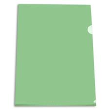 Папка-уголок Бюрократ -EE310/1GREEN (A4, пластик, толщина пластика 0,15мм, зеленый) [EE310/1GREEN]