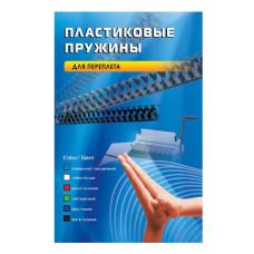 Пружина пластиковая Office Kit BP2040 (14мм, A4, черный, 100шт) [BP2040]