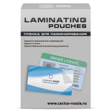 Пленка для ламинирования Cactus CS-LPG6595100 (100мкм, 100шт, глянцевая) [CS-LPG6595100]