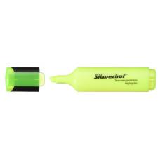 Текстовыделитель Silwerhof 108036-05 (скошенный пишущий наконечник, толщина линии 1-5мм, желтый) [108036-05]