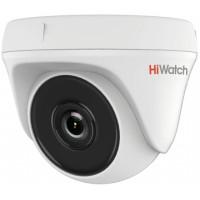 Камера видеонаблюдения HiWatch DS-T133 (2.8 мм) (уличная, цветная, 1Мп, 2.8-2.8мм, 1280x720, 25кадр/с) [DS-T133 (2.8 mm)]