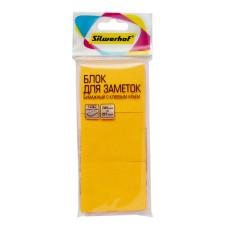 Блок самоклеящийся Silwerhof 682159-07 (оранжевый, 38x51) [682159-07]