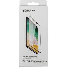 Защитное стекло для экрана Redline (Apple iPhone XR/11) [УТ000016086]
