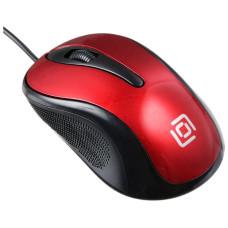 Oklick 385M Red USB (кнопок 3, 1000dpi)