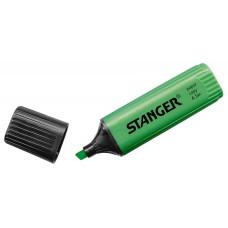 Текстовыделитель STANGER 180006000 (зеленый) [180006000]