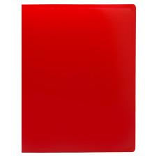 Папка на кольцах Buro ECB0420/2RRED (количество колец 2, форма колец О-образные, A4, пластик, толщина пластика 0,5мм, красный) [ECB0420/2RRED]