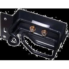 Кабельный органайзер LANMASTER TWT-CBB-RGV-L (односторонний, кольца, 1U, 48мм) [TWT-CBB-RGV-L]