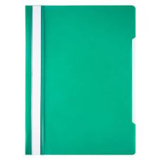 Папка-скоросшиватель Бюрократ Economy -PSE20GRN (A4, прозрачный верхний лист, пластик, зеленый) [PSE20GRN]