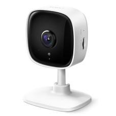Камера видеонаблюдения TP-Link Tapo C100 (внутренняя, внутренняя, кубическая, 2Мп, 50м, 3.3-3.3мм, 1920x1080, 15кадр/с) [Tapo C100]