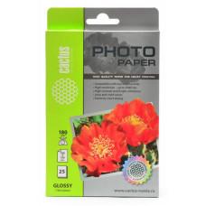 Фотобумага Cactus CS-GA618025 (10x15, 180г/м2, для струйной печати, односторонняя, глянцевая, 25л) [CS-GA618025]