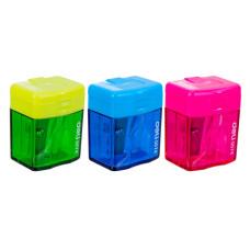 Точилка для карандашей Deli E0574 (ручная, пластик, отверcтий 1) [E0574]