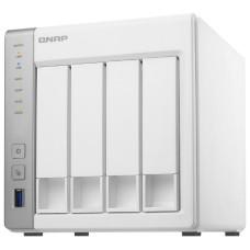 Сетевой накопитель QNAP D4 (ARM AL-212 1700МГц ядер: 2, 1024Мб DDR3, RAID: 0,1,10,5,6) [D4]