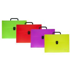 Портфель Silwerhof 965993 (A4, отделений 1, пластик, ассорти) [965993]