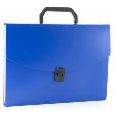 Портфель Бюрократ -BPP6 (6 отделений, A4, пластик, 0,7мм, ассорти) [BPP6]