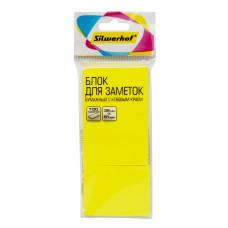 Блок самоклеящийся Silwerhof 682159-05 (желтый, 38x51) [682159-05]