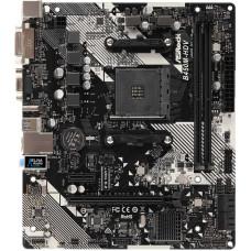 Материнская плата ASRock B450M-HDV R4.0 (AM4, AMD B450, 2xDDR4 DIMM, microATX, RAID SATA: 0,1,10) [B450M-HDV R4.0]