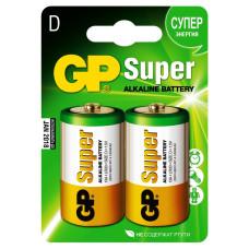 Батарейка GP Super Alkaline D