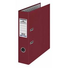 Папка-регистратор Durable 3210-31 (A4, бумвинил, ширина корешка 70мм, бордовый) [3210-31]