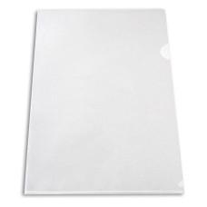 Папка-уголок Бюрократ Economy E100CLEAR (A4, пластик, тисненый, толщина пластика 0,1мм, прозрачный) [E100CLEAR]