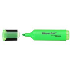 Текстовыделитель Silwerhof 108036-03 (скошенный пишущий наконечник, толщина линии 1-5мм, зеленый) [108036-03]