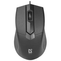 Мышь DEFENDER MB-270 Black USB (кнопок 3, 1000dpi) [52270]