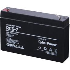 Батарея CyberPower RC 6-7 (6В, 12Ач) [RC 6-7]
