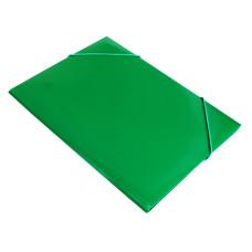 Папка на резинке Бюрократ PR05grn (A4, пластик, толщина пластика 0,5мм, ширина корешка 30мм, зеленый) [PR05grn]