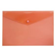 Конверт на кнопке Бюрократ PK804A5RED (A5, пластик, толщина пластика 0,18мм, красный) [PK804A5RED]