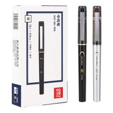 Ручка гелевая Deli S137 (0,5мм, черный) [S137]
