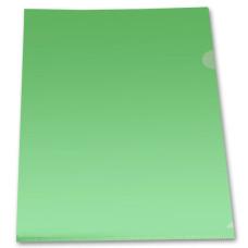 Папка-уголок Бюрократ Economy E100GRN (A4, пластик, тисненый, толщина пластика 0,1мм, зеленый) [E100GRN]