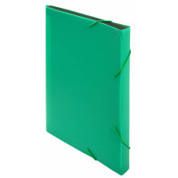 Портфель Бюрократ -BPR6GRN (6 отделений, A4, пластик, 0,7мм, зеленый) [BPR6GRN]
