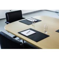 Настольное покрытие Durable 7101-01 (42х30 см, черный, нескользящая основа) [7101-01]