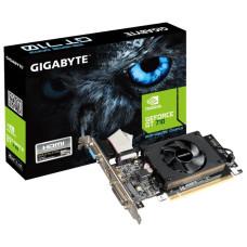 Видеокарта GeForce GT 710 954МГц 2Гб Gigabyte (PCI-E 8x 2.0, DDR3, 64бит, 1xDVI, 1xHDMI) [GV-N710D3-2GLV2.0]