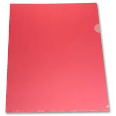 Папка-уголок Бюрократ E310/1RED (A4, пластик, толщина пластика 0,18мм, красный) [E310/1RED]
