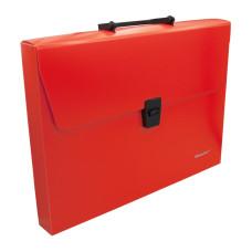 Портфель Silwerhof 322715-04 (A4, отделений 1, пластик, оранжевый неон) [322715-04]