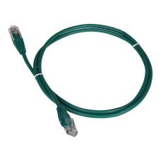 Патч-корд Lanmaster TWT-45-45-0.3-GN (вилка RJ-45, вилка RJ-45, 0,3м, 5Е) [TWT-45-45-0.3-GN]