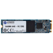 Жесткий диск SSD 120Гб Kingston A400 (M.2 2280, 500/320 Мб/с, SATA) [SA400M8/120G]