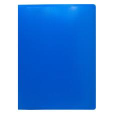 Папка на кольцах Buro ECB0430/2RBLUE (количество колец 2, форма колец О-образные, A4, пластик, толщина пластика 0,5мм, синий) [ECB0430/2RBLUE]