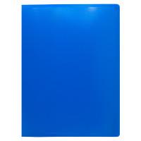 Папка с зажимом Buro ECB04CBLUE (зажимов 1, A4, пластик, толщина пластика 0,5мм, синий) [ECB04CBLUE]