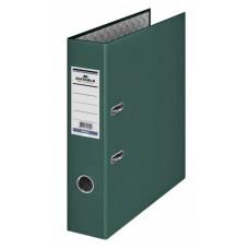 Папка-регистратор Durable 3210-32 (A4, бумвинил, ширина корешка 70мм, темно-зеленый) [3210-32]