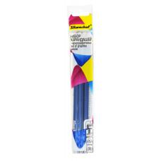 Набор карандашей чернографитовых Silwerhof 125040-00 (шестигранный, H-B, пакет с европодвесом, упаковка 3шт) [125040-00]