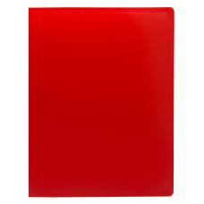 Папка Buro ECB20RED (A4, пластик, толщина пластика 0,5мм, красный) [ECB20RED]