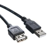 VCOM (USB 2.0 Type-AM, USB 2.0 Type-AF, 1,5м) [TUS6990-1.5M]