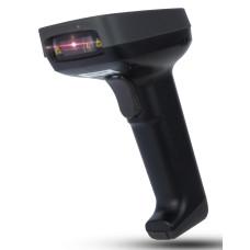 Сканер штрих-кода Deli E14953W (ручной, лазерный, USB, 1D) [E14953W]