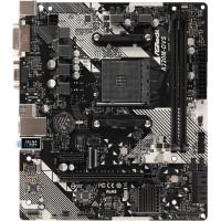 Материнская плата ASRock A320M-DVS R4.0 (AM4, AMD A320, 2xDDR4 DIMM, microATX, RAID SATA: 0,1,10) [A320M-DVS R4.0]